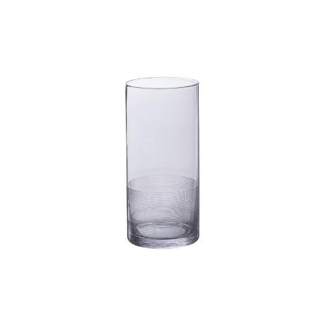 Louxor Grey Vase (h)22x(d)10cm