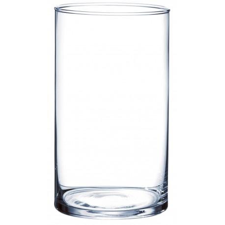 Vase cylindrique (h)25x(d)10cm