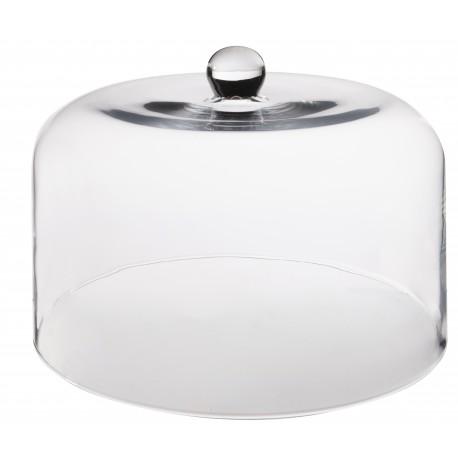 Cloche en verre (h)26x(d)35cm