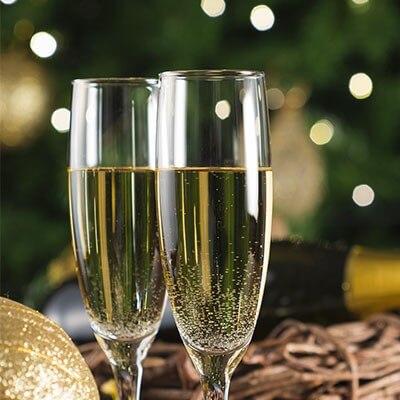 Flûtes à champagne /Coupes à champagne